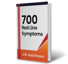 700 Red Line Symptoms by J.W. Hutchinson Book