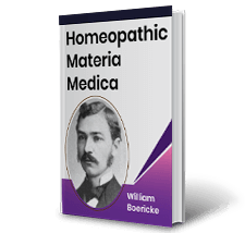 Homeopathic Materia Medica by William Boericke Book