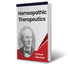 Homeopathic Therapeutics by Samuel Lilienthal Book