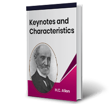 Keynotes and Characteristics by H.C. Allen Book