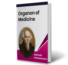 Organon of Medicine by Samuel Hahnemann Book