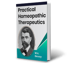 Practical Homeopathic Therapeutics by W.A. Dewey Book