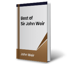 Best of Sir John Weir. by John Weir Book