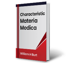 Characteristic Materia Medica by William H Burt Book