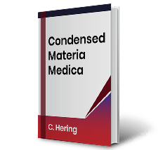 Condensed Materia Medica by C. Hering Book