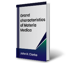 Grand characteristics of Materia Medica by John H. Clarke Book