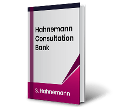 Hahnemann Consultation Bank by S. Hahnemann Book