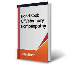 Hand Book Of Veterinary Homoeopathy by John Rush