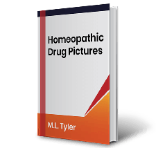 Homeopathic Drug Pictures by M.L. Tyler Book