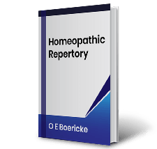 Homeopathic Repertory O E Boericke Book