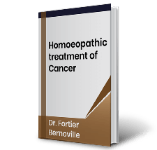 Homoeopathic treatment of Cancer by Dr. Fortier Bernoville