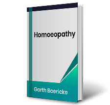 Homoeopathy by Garth Boericke Book