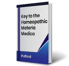 Key to the Homeopathic Materia Medica by Pulford Book