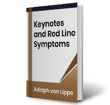 Keynotes and Red Line Symptoms by Adolph von Lippe Book