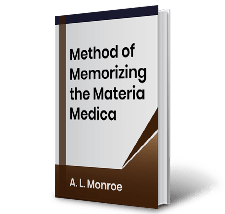 Method of Memorizing the Materia Medica by A. L. Monroe Book