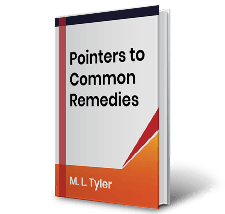 Pointers to Common Remedies by M.L.Tyler