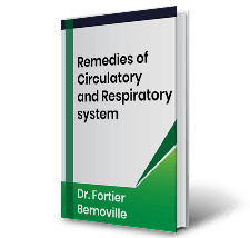 Remedies of Circulatory and Respiratory system by Dr. Fortier Bernoville