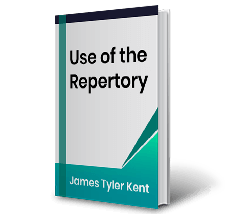 Use of the Repertory by James Tyler Kent Book