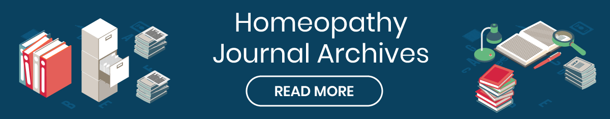Homeopathy Journal Archives